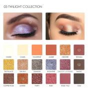 18 colour eyeshadow , certainPL FOCALLURE 18 Colours Pearlized Colour Eyeshadow Powder Eye Shadow Palette Set