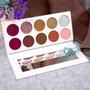 10 colour eye shadow golden onion powder , certainPL Renaissance Eye Shadow Makeup Cosmetic Shimmer Matte Eyeshadow Palette