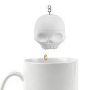 AOLVO Silicone Tea Bones Skull Tea Infuser Filter Diffuser Loose Leaf Leaves Silicone Tea Strainer