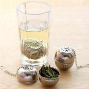 Hongxin Reusable Tea Infuser Stainless Steel Loose Chinese Oolong Puer Green Tea Leaf Stainless Steel Ball Tea Leaf Strainer Filter Tea Accessories