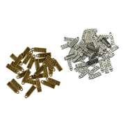 Homyl 100pcs Alloy Metal Beads MADE WITH LOVE Charms Pendants For Necklace DIY