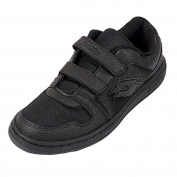 Lotto Ace GS Junior Lace Black Shoes - 2 UK