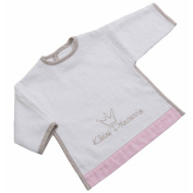 Be Be's Collection 530 – 60 sleeves Princess Pink Bib with Hook and loop
