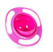 RUIIO Creative Baby Children Food Feeding 360 Rotating Spill Proof Gyro Bowl Dish Gyro Bowl