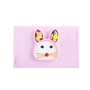 INCHANT Toddler Rabbit Silicone Placemat, Portable One-Piece Place Mat, Feeding Placemat Plate, Dishwasher And Microwave Safe