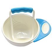 Chen Rui™ Baby Food Masher and Serve Bowl Mash Crude Fibre, Large Grained Fruits Assist Baby To Eat
