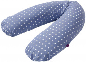 Traeumeland Blue with White Stars Nursing Cushions, 180 cm