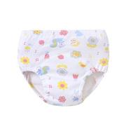 girl children's bakery baby underwear pure cotton underwear training pants learning pants random colour