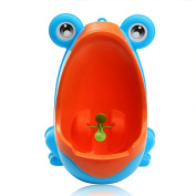 Baby Potty, Woopower Lovely Frog Children Kids Potty Removable Toilet Training Kids Urinal Early Learning Boys Pee Trainer Bathroom