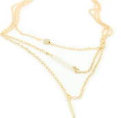 Hosaire 1 Piece Necklace Fashion Jewellery Creative Layered Pendant Necklace Chain