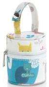 pirulos 47512220 – portachupete, Design Happy Zoo, 8 x 9 cm, White/Grey