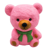 Squeeze Toys Cartoon Cute Pink Bear Squishy Slow Rising Cream Scented Stress Reliever Cure Toy Valentine's Day Gift