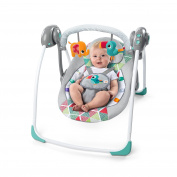 Bright Starts 10998 Toucan Tango Portable Baby Swing Grey