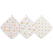 Ideal Baby by The Makers of Aden + Anais 3 Pack Cloths Winnie