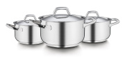 Barazzoni Cookware Set Chef line 6 pcs Made in Italy