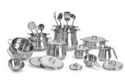 Barazzoni Cookware Set Tummy 25 pcs Made in Italy