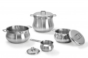 Barazzoni Cookware Set Tummy 7 pcs Made in Italy