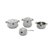Barazzoni Cookware Set Tummy Evolution 7 pcs Made in Italy