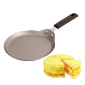 Nonstick pan, Sacow 15cm Non-stick Copper Frying Pan With Ceramic Coating And Induction Cooking Oven Safe