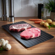 ZTY66 Kitchen Tool Safest Way to Defrost Meat or Frozen Food Aluminium Fast Defrosting Tray