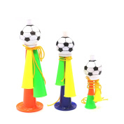 3 Pcs Mini Plastic Trumpet Toy Stadium To Cheer Audio Speakers Party Supplies Joy Football Atmosphere Trumpet Horn Soccer Fans by IDS