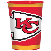 Amscan 422339/a-CP Plastic Cup Party Supplies, Red