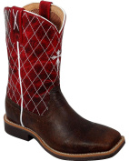 Twisted X Boots Little Boys' Work Cowkid Leather Boots