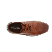 Deer Stags Ace Boy's Wingtip Oxford Shoes, Luggage