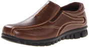 Deer Stags Stadium Boys Flats Shoes, Brown