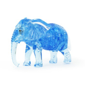 Original 3D Crystal Puzzle, Sacow Cute Elephant Crystal Puzzle DIY Gadget Blocks Building Toys