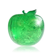 Tiean 3D Crystal Puzzle, Apple Model DIY Gadget Blocks Building Coolplay Toy