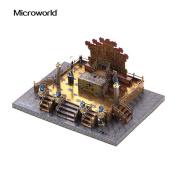 Microworld 3D Metal Nano Puzzle Zhengda Guangming Palace Building Assemble Model Kit J039-C DIY 3D Laser Cut Jigsaw Toy