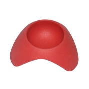 COJOY Silicone Egg Cup Holders Perfect for Serving Tray Soft Boiled Eggs Serving Cups 4 Pack Red