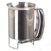 SECRET de GOURMET Stainless Steel Cake Batter Dispenser And Funnel