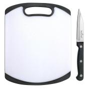 BarCraft Cutting Board and Knife Set