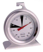 Premium Stainless Steel 50mm Dial Fridge Or Freezer Thermometer
