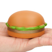 Gbell 7cm Yummy Hamburger Squishy Slow Rising Cream Scented Charm Stress Reliever Toy