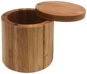 JapanBargain S-4112, Bamboo Salt Box 8.3cm