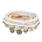 Yosemite Women Boho Multilayer Handmade Coin Pendant Bracelet Party Jewellery Gift