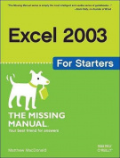 Excel 2003 for Starters