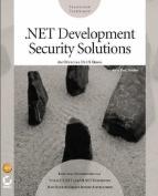.Net Development Security Solutions