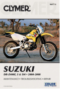 Repair Manual Motorcycle Manuals Su Dr-z400 2000-12 Suzuki Drz400e/s/sm 00-12 00-08 Clymer Dr-z400e,s & Small