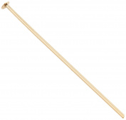 Tee pin 0.5 x 20 mm 30 x 6 gold set