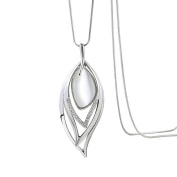 Profusion Circle Fashion Women Opal Leaf Long Sweater Chain Necklace Jewellery