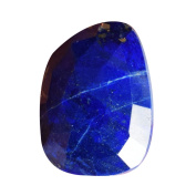 Top Grade Natural Blue Lapis Lazuli Cabochon For Jewellery Making, Faceted Cut, Pendant Cabochon, Crafts, AG-7697