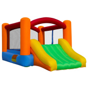 Cloud 9 Bounce House - Inflatable Kids Jumper Bouncer Slide With Blower
