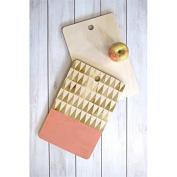 Deny Designs Georgiana Paraschiv Gold Triangles Cutting Board