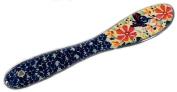 Polish Pottery Stoneware Spreader or Knife in Pattern Viktoria