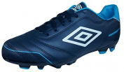 Classico 3 FG Football Boots Junior Blue Size 38