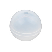 Round ball Silicon Mould Mould With Hole For Epoxy Resin Jewellery Beads Pendant Making DIY Craft Bobury